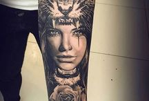 Tattoo chica/animal