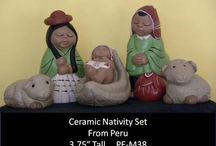 Nativity sets 2013 / by Teocalli Collections