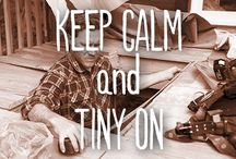 Keep Calm and Tiny On / The tiny life is cool but it ain't easy living in less than 500 sq feet. Keep calm and tiny on with these tiny lifehacks. You can do this! / by FYI TV