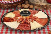 Tablas embutidos / 3 deliciosas tablas hechas con nuestros mejores embutidos.