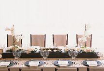 slavnostní stoly