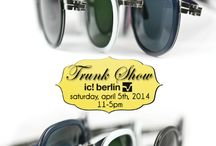 Upcoming Trunk Shows / The latest Trunk Shows that Rims & Goggles of Marin will be hosting!  Come join in the fun and fashion!