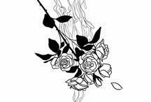 Black Ink Art Work