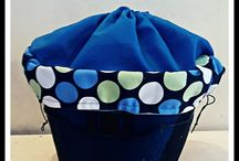 Waterproof bags to the bicycle baskets
