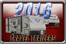 New 2016 Travel Trailers / 2016 Model Year Travel Trailer RVs. for Sale at Kitsmiller RV, Cougar X-Lite, Open Range Light, Hideout, Bullet and Premier