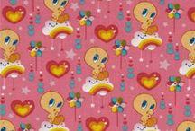 Tweety Bird Fabric