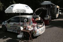 mykebuko - coffee shop / a car that says a lot of people about mykebuko