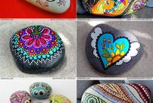 Rocks, Painted & More / by Lori Allred {allreddesign.net}