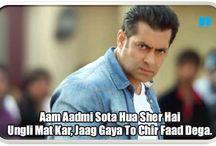 Salman Khan's Famous Dialogues / Salman Khan's Famous Dialogues