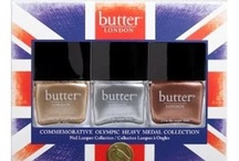 Butter London Metallic Nails / Get ready to celebrate the 2012 olympics with a Metallic look / by Zuneta Beauty