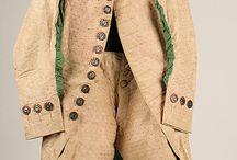 herr kläder 1700-1800