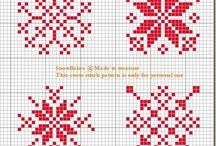 xmas x stitch patterns