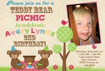 Teddy bear picnic party
