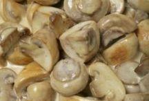 huby, strukoviny-recepty