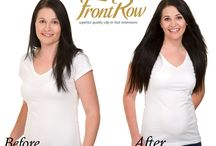 Frontrow Before & Afters / #frontrowhair# #hairextensions#