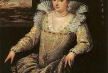 Late 16th century Venetian dresses