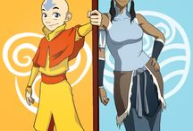 Aang and Korra: Avatars ROCK! / A TV series with elemental martial arts, flying Bisons and kick-ass female characters?? Yes please! / by Rachel Quirke