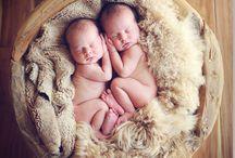 Newborn Twin Photography / Newborn Tween Photography, posing, ideas