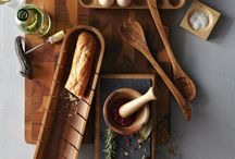 Kitchen tools wood