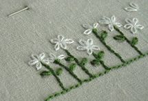 Hand embroidery stitches
