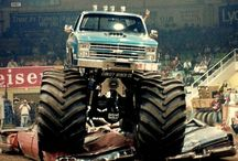 monster trucks!!