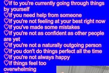 For Boyfriend / This stuff is mainly aimed at girls but same message applies