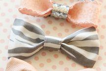 Cute hair bows / Super cute bow to make and wear !