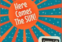"STEM - Solar Energy ""Here Comes The Sun"" / The mighty power of the sun....STEMists can learn all about solar energy and make a better future for Earth and themselves. / by Groovy Lab in a Box"