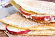 bruschettas, crostinis, quesadillas & sandwich