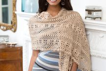 Crochet - scarfs, shawls, wraps etc.