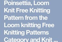 Loom knitting patterns