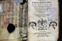 Coelvm philosophorvm sev liber de secretis naturae. Lvgdvni : apud Gulielmum Rouillium, 1557 / Tractat de Phillip Ulsted imprès per primera vegada el 1525 a Friburg. Va ser una obra molt popular, que va servir com autoritat standard per les destil.lacions químiques. En una centúria es van fer més de 20 edicions de l'obra. D'aquesta edició de Lió, 1557, no ens consta cap altre exemplar d'aquesta edició en tot l'estat espanyol. El nostre exemplar prové del Convent de Santa Caterina.