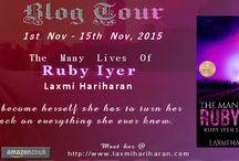 The Many Lives of Ruby IyerLaxmi Hariharan / https://www.goodreads.com/author/show/5787137.Laxmi_Hariharan
