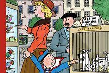 Tintin et Milou / Tout sur les personnages d'Hersé