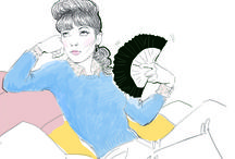 Rock & Draw / Illustrations by Marie Perron