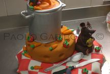 Paolo Gariboldi's cakes / Cakes-Cake Design-Easter eggs and more...