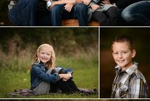Family Portrait Ideas / Clothing & Poses