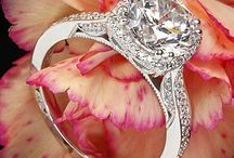 Diamond Engagement Rings / by Kathy Whitley