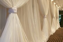 wall drapes for wedding