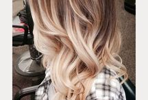 Hair colour and styles