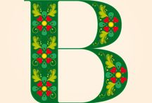 B is for Bountiful Bees / Bees, the letter B, and everything that begins with B