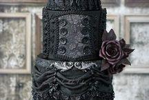 Dark, Gothic Cakes