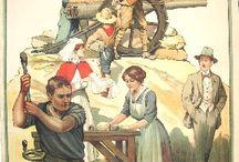 World War I Vintage Posters / Original vintage posters featuring World War I propaganda
