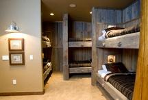 Vierashuone bunk room