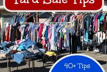 Yard Sale Tips / Plan your perfect yard sale