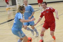 Men's Indoor Soccer - January 14, 2015 / Canadore Panthers vs. Nip Lakers