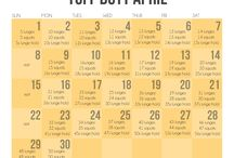 Exercise - Monthly Challenges / by Tarah Manning