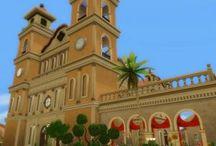 Terrains communautaires Sims 4 / Disponibles sur http://luniversims.com