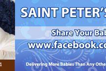 Saint Peter's Delivers / Parent created billboards from the Saint Peter's Delivers! Facebook App.