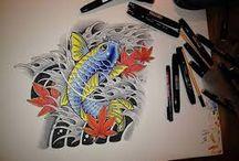 Art by Sayoku Irezumi / Art,Drwaings,Sketches